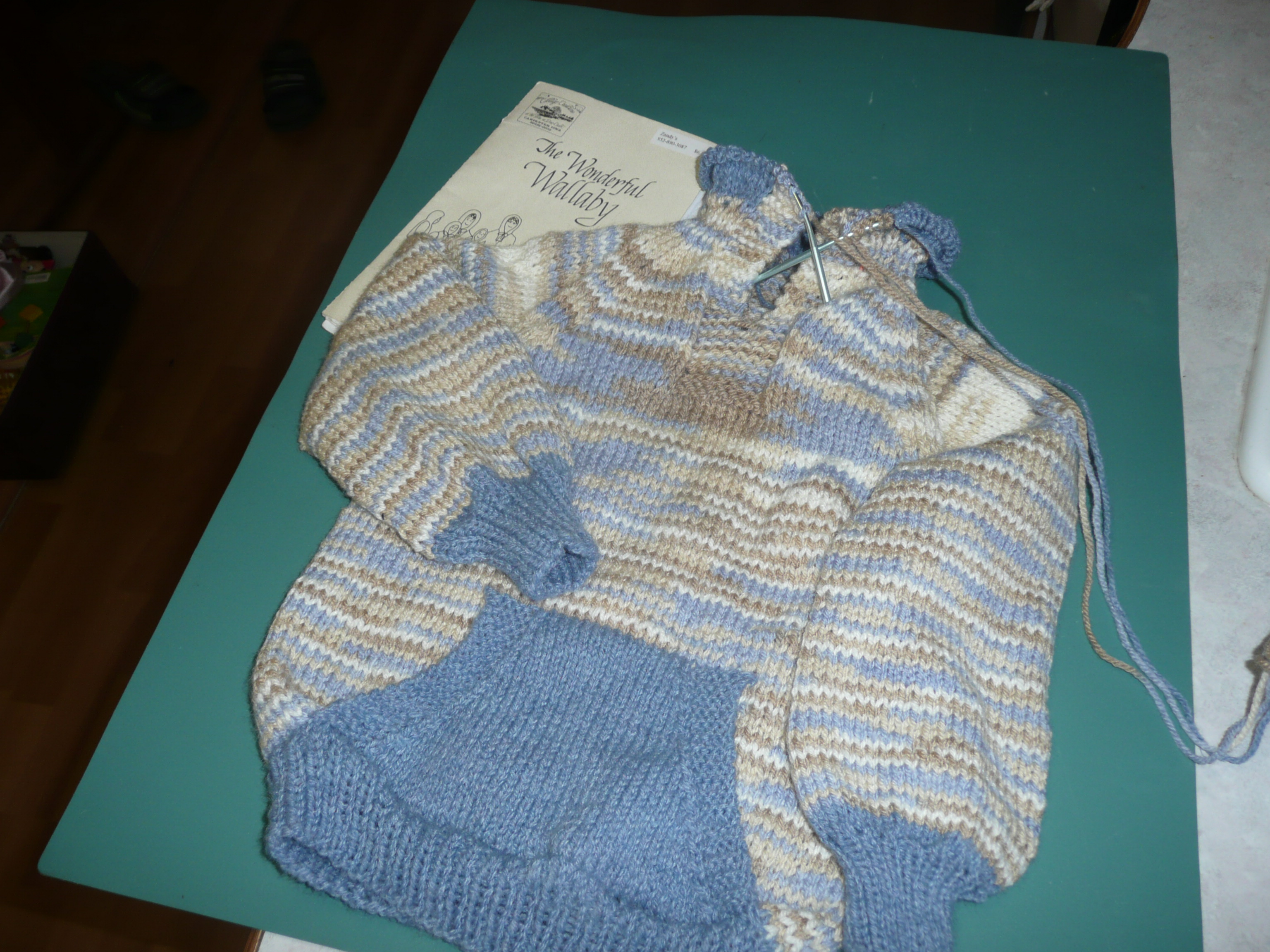 Wallaby Hoodie Knitting Pattern : Wallaby Sweater Thoughts of Grace