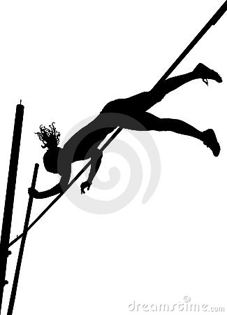 silhouettes-pole-vaulting-thumb9880147