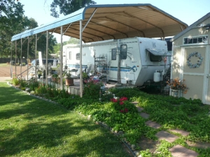 cozy acres rv with awning