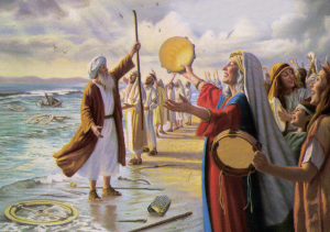 The Song of Moses, Victory at the Red Sea | Thoughts of Grace